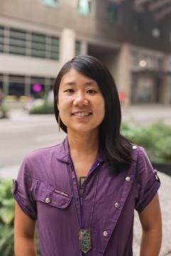 Headshot of Vivian Hua smiling